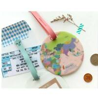 PVC World Map Luggage Suitcase Holiday Tags Bag Travel Tags  Accessories G