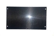 Ford Mustang Real 100% CARBON FIBER 87-93 radio DELETE panel