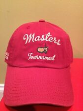 NWT Masters Golf Hat Red Cap Augusta National NEW Rare