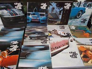 A Lot of Porsche's CHRISTOPHORUS Magazines