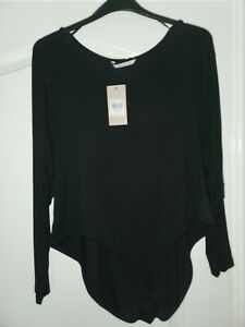 size 26 body top new black  very soft