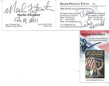 2000 US OLYMPIC GOLD MEDALIST RULON GARDNER SIGNED BUSINESS CARD