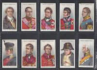WILLS - WATERLOO (UNISSUED) - FULL SET OF 50 CARDS