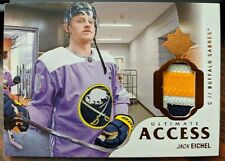 2018-19 Ultimate Jack Eichel Ultimate Access Patch 2/5 Sabres