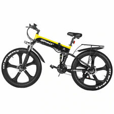 New Mountain Fat e Bike 1000W Folded Electric Bicycle Electronic Bikes 48 v
