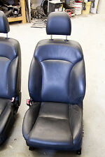 READ FIRST 06 Lexus IS 350 Front Seat Pair Set Black Complete Bucket Leather