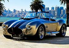 Encadrée imprimer-ac cobra kit voiture (vintage photo porsche aston martin ferrari)