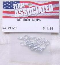 Associated RC18T Body Clips (12 pcs)