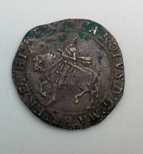 England Charles I Half Crown Mint Mark Bell   Nice Grey Colour Some Patina