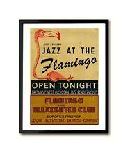 Jazz At The Flamingo London Jazz Mod club Art Print
