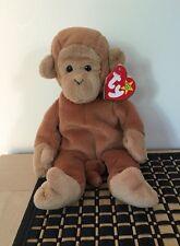Ty Beanie Baby Bongo - Monkey Brown Tail (4th Gen Swing 4th Gen Tush PVC)