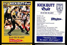 1997 West Coast Eagles Kick Butt Quit Healthway David Hart