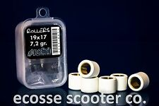 VESPA 125/150cc ET4 LX SCOOTERS POLINI VARIATOR ROLLERS 19 X 17 @ 7.2 GRAMS
