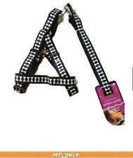 Pet Leash with Harness. Medium- Large Breed Puppy - Black