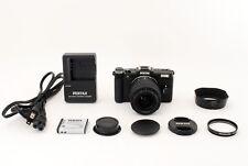 PENTAX Q 12.4MP Digital Camera Black w/ AL 5-15mm 02 Lens [EXCELLENT++] y617