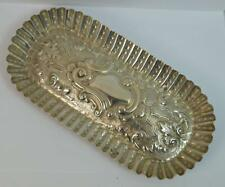 Oval Pin Dish Tray 1884 Victorian Solid Silver