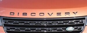 Land Rover OEM Black Discovery Front & Rear Lettering for Discovery 2017+ L462