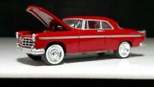 Johnny Lightning 1955 Chrysler C300 Red White Wall American Chrome