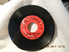 """CLAUDE KING (COLUMBIA 4-42196) 7"""" 45 rpm I CAN'T GET OVER THE WAY YOU GOT OVER M"""