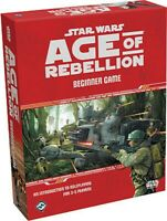 FFGSWA01 Fantasy Flight Games Star Wars RPG: Age of Rebellion - Beginner Game
