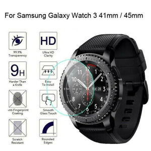 Tempered Glass 9H HD Protective Films For Samsung Galaxy Watch 3 41MM 45MM