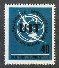 Germany 1965 MNH Mi 476 Sc 927 ITU. International Telecommunication Union **