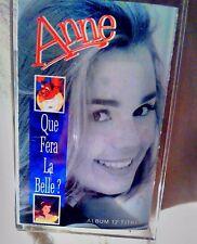 cassette audio Anne Que fera la Belle