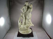 """""""Vintage"""" Giuseppe Armani LITTLE BRIDE & GROOM ON STAIRS #475F 1988 RETIRED 1993"""