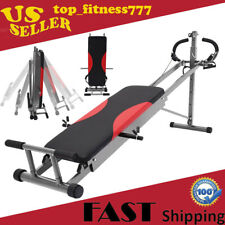 Total Gym Home Exercise Fitness Gym Machine Ab Trainer Workout Equipment