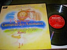 ANDRE PREVIN SAINT-SAENS CARNAVAL DES ANIMAUX LP PHILIPS STEREO 9500973  N. MINT