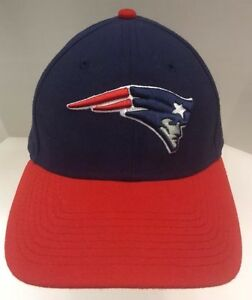 New Era New England Patriots NFL Cap Hat 9Forty First Down Uline Blue Red OSFA