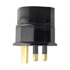 Pro European Euro EU Schuko 2 Pin to UK 3 Pin Travel Mains Adaptor Plug