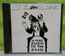 Jinx A Mad Rush to the End CD 1994 Rock Band Los Altos California