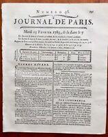 Château d'Henonville en 1785 Oise Moussy Turmenies Journal de Paris