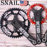 US SNAIL 30-52t 104bcd Crankset Crank set MTB Road BMX Bike Sprocket Chainring
