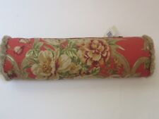 Rose Tree Durham neckroll bolster deco pillow NWT