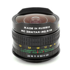 ZENITAR f/2.8 16mm FISHEYE LENS for Canon EOS Rebel XS, X, 1N,1N RS, Elan II/IIe