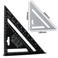 1PC Multi-function Triangle Ruler Wood Measuring Guide Square Roofing Rafter New