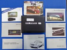 1999 Mercedes CLK 320 CLK320 Cabriolet Owner Manuals Operator Books Package S188