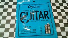 Electric Guitar Strings Brand New Sealed Set Of .009'S