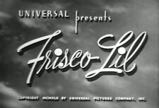 FRISCO LIL (1942) DVD IRENE HERVEY, KENT TAYLOR