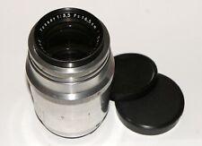 Carl Zeiss Jena Tessar 165mm 3.5 Medium Format Lens Converted to Pentacon Six