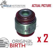 2 x BIRTH REAR AXLE CONTROL ARM WISHBONE BUSH PAIR GENUINE OE QUALITY - 2165