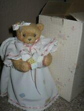 New ListingRare 1993 Cherished Teddies Christmas Tree Topper- In Box- #903922 Mib