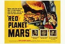 RED PLANET MARS Movie POSTER 27x40 Peter Graves Andrea King Herbert Berghof