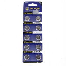 10pcs Alkaline batteries 1.5V A76 AG13 303 357 L1154 SR44