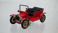 Matchbox Lesney Models Of Yesteryear Y-1 Ford T Rare Red Vintage Diecast Toy Car