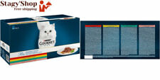 Gourmet PURINA Filet au Poulet Bœuf saumon et Lapin Nourriture pour chats de