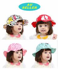 Baby Kids Toddler Girl Outdoor Floppy Beach Sun Summer Hat Cap Bucket Hat Beanie