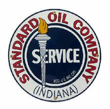 Standard Oil Company Porcelain Advertising Sign